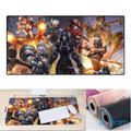 MOUSE PAD GAMER FIGHTINHG GIRLS EXTRA GRANDE 700 X 350 X 3MM EXBOM - 2798