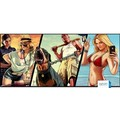 MOUSE PAD GAMER GTA (A12) EXTRA GRANDE MP-9040A12 900 X 400 X 3MM EXBOM - 3454