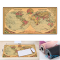 MOUSE PAD GAMER MAPA DO MUNDO EXTRA GRANDE 700 X 350 X 3MM EXBOM - 2703