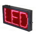PAINEL DE LED VERMELHO 36 X 20CM C/ ENTRADA USB LELONG - SL-0421V
