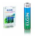 PILHA AAA ALCALINA LR03 (BLISTER C/ 4) ELGIN - 82155