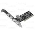 PLACA PCI USB 2.0 480MBPS C/ 5 PORTAS LEAVES