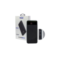 POWER BANK 10.000 MAH PRETO C/ DISPLAY KNUP - KP-PB05