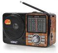 RÁDIO AM / FM RETRO C/ SD / TF / USB / AUX LELONG - LE-610