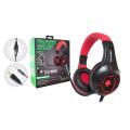 FONE DE OUVIDO GAMER USB + P2 C/ AJUSTE DE VOLUME / LED P/ PS4 / XBOX ONE TECDRIVE X-CELL - PX-12 Vermelho