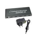 SPLITTER HDMI DIVISOR 1 ENTRADA X 4 SAÍDAS 1.4 3D 1080P INFOKIT - 1607