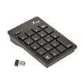 TECLADO USB NUMÉRICO COMPACTO P/ NOTEBOOK S/ FIO KNUP - KP-2038