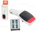 TRANSMISSOR DIGITAL S/ FIO C/ FM / MP3 / USB / CARTÃO DE MEMÓRIA KD627 EXBOM - 2701