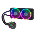 WATERCOOLER RGB 240MM ATÉ 150W P/ PROCESSADOR INTEL / AMD DEX - DX-240A