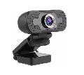WEBCAM 1080P HD USB PRETO C/ MICROFONE WEB001CAM