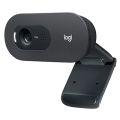WEBCAM USB HD 720P C505E C/ MICROFONE PRETO LOGITECH