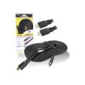 CABO HDMI FLAT 1.4 C/ 5,0M 15 PINOS MALHA B-MAX - BM8674